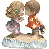 Precious Moments Love is Deeper Than The Ocean Bisque Porcelain 183001 Figurine, One Size, Multi