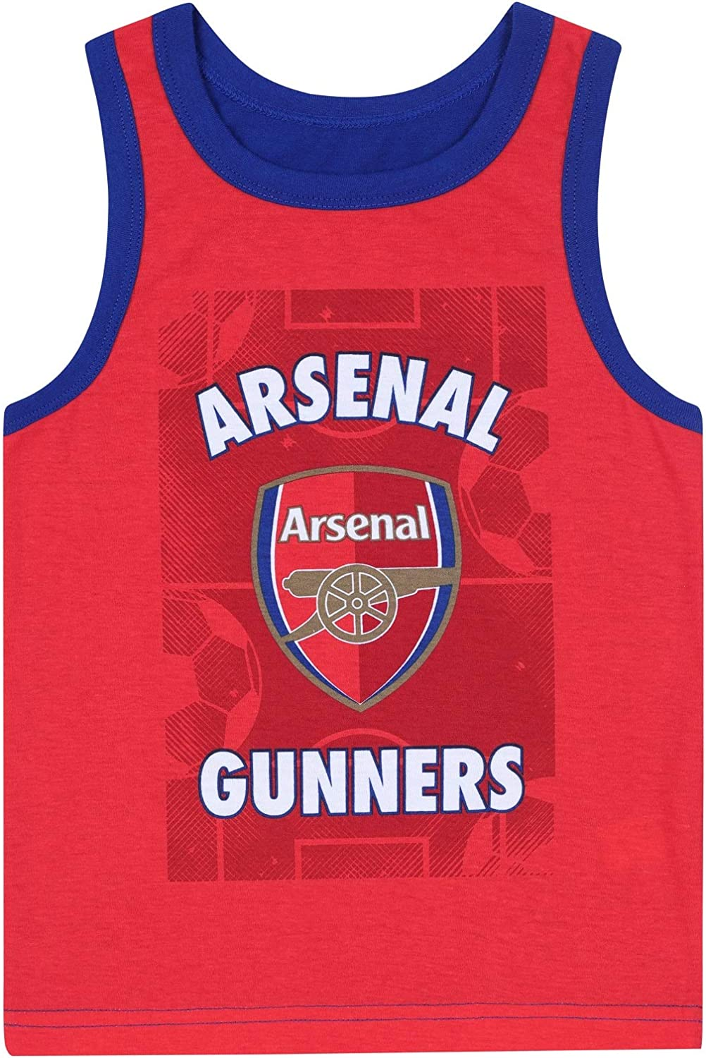 Arsenal FC Official Football Gift Boys Boxer Shorts /& Vest Set
