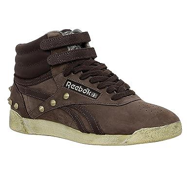 Freestyle Hi V54019 Damen Sneakers / Freizeitschuhe Braun 38,5 Reebok