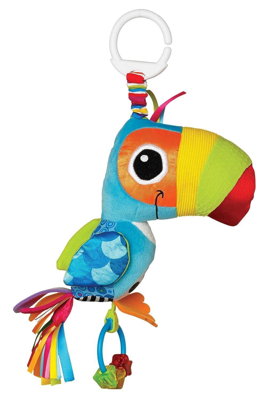 Lamaze Baby Spielzeug | Tommy, der Tukan | Clip & Go - hochwertiges Kleinkindspielzeug | Greifling | Kinderwagen Spielzeug |Anhänger zur Stärkung der Eltern-Kind-Bindung - ab 0 Monate Tomy LC27564