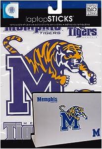 me & my BIG ideas laptopSTICKS Removable Laptop Stickers, Memphis Tigers
