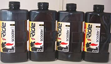 Eni - Lubricante i-Ride para scooter 2T, 4 x 1=4 L: Amazon ...