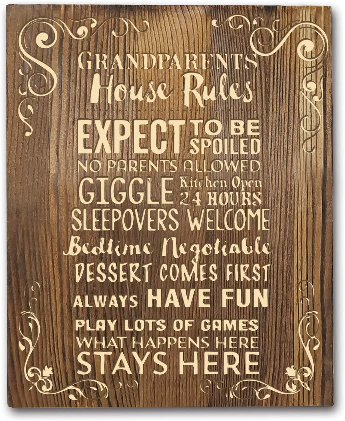 Grandparents House Rules 8