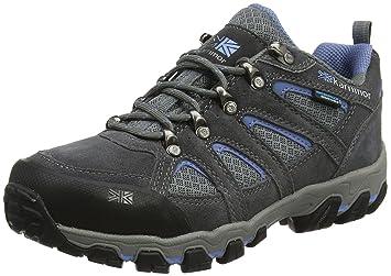 Karrimor Damen Bodmin Low 5 Ladies Weathertite UK 8 Trekking-& Wanderhalbschuhe, Grau (Dark Grey), 42 EU