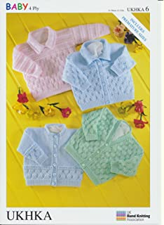 3dee01f6e 4 Ply Knitting Pattern - PG 7209 Baby Cardigans  Baby Product ...