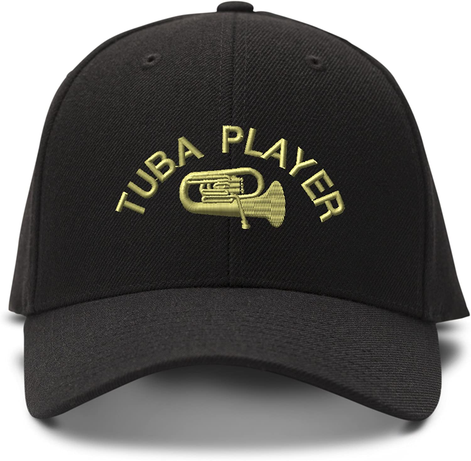 Speedy Pros Tuba Player Embroidery Adjustable Structured Baseball Hat