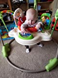 Grandson can bounce for hours if we let him!