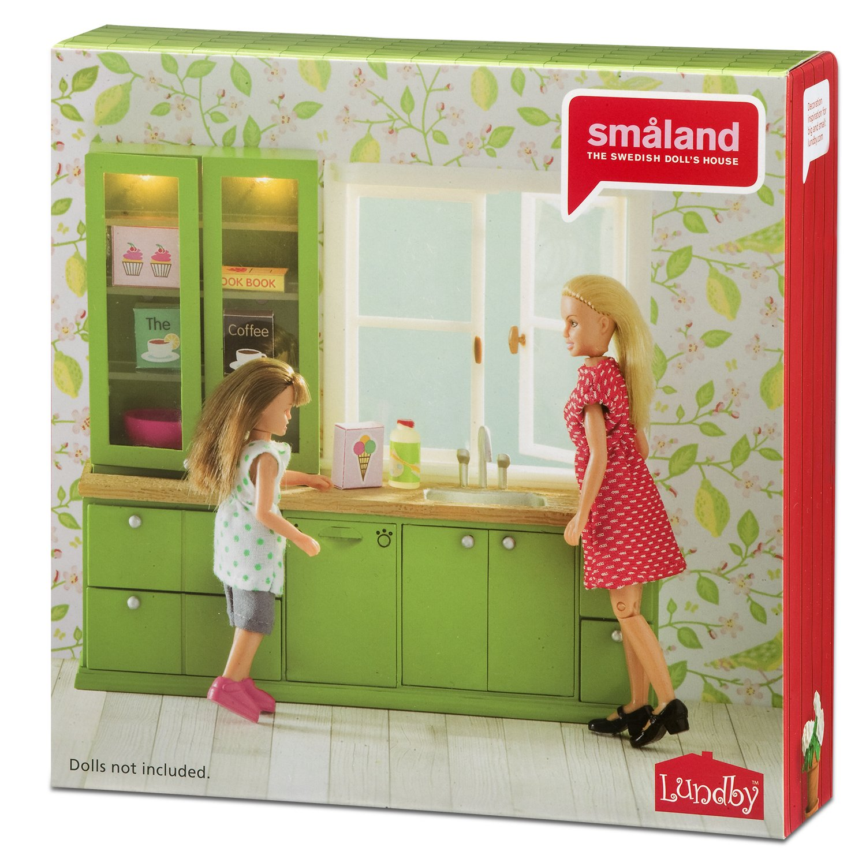 Lundby Smaland Wash-Up Sink and Dishwasher Playset