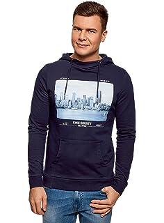 c28ab0d77ee5 oodji Ultra Homme Pull avec Imprimé Cachemire  Amazon.fr  Vêtements ...