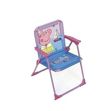 Amazon.com: Arditex - Silla Peppa Pig infantil plegable ...