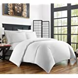 Zen Bamboo Ultra Soft 3-Piece Rayon Derived From Bamboo Duvet Cover Set -Hypoallergenic and Wrinkle Resistant - King/Cal King - White