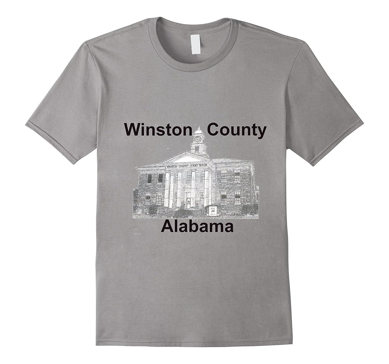 Souvenir Winston County Alabama T-Shirt-TH
