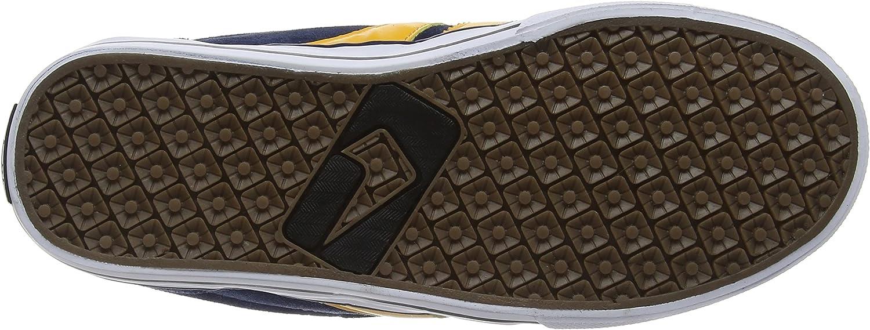 Globe Herren Encore-2 Skateboardschuhe Mehrfarbig Navy Yellow
