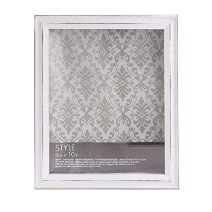 Amazoncom Darice 1406 001w White Shadow Box Frame Whitewashed