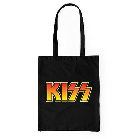 LaMAGLIERIA Bolsa de Tela Kiss Coloured Logo - Tote Bag ...