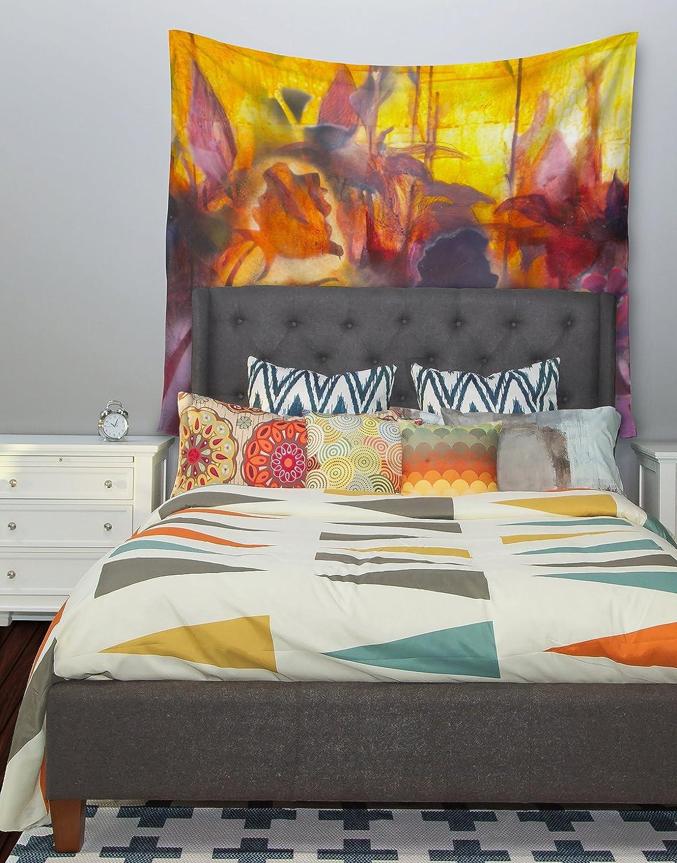 Kess InHouse Kristin Humphrey Release Pink Orange Wall Tapestry 51 X 60