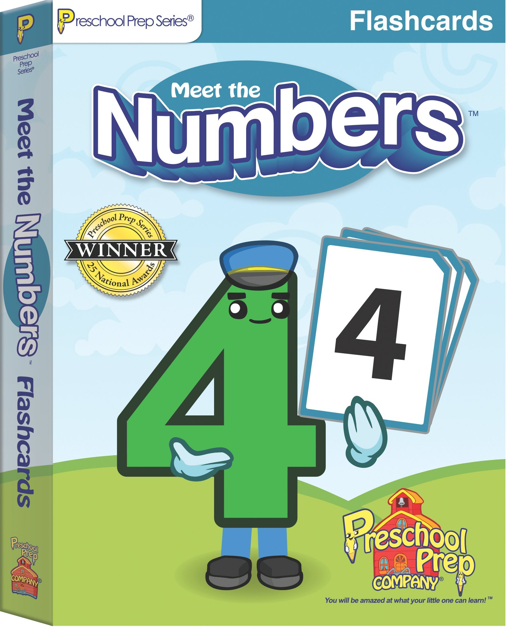 Meet the Numbers - Flashcards: Kathy Oxley: 9781935610359: Amazon ...