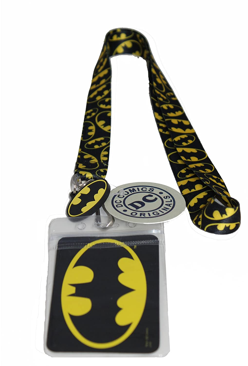 Lanyard with Charm DC Comics Originals Multibatman Lanyard Officially Licensed & Trademarked Products LAN-DC-0007