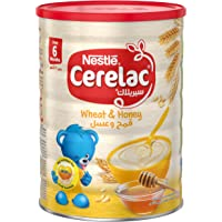 Nestle Cerelac Infant Cereal Wheat & Honey Tin, 1kg