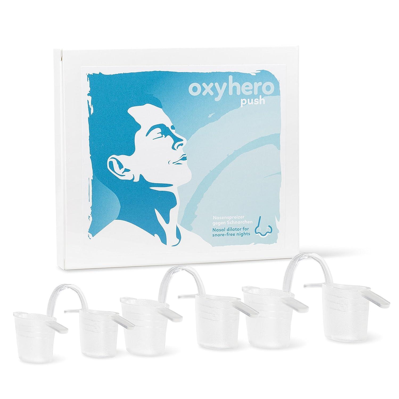 Mandibular Advance Device SnorBan - Protector de escarcha con juego de deflectores nasales (S, M, L) - Gran ayuda para 3 diferentes causas de ronquido ...