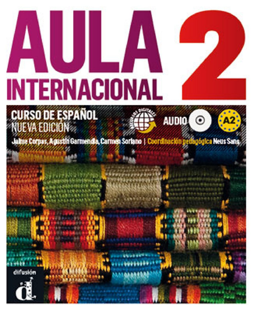 Aula internacional nueva edición 2: Libro del alumno + Audio-CD (MP3)