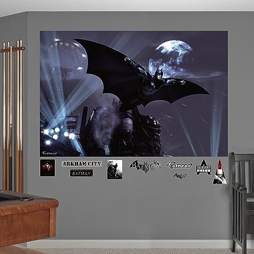 Batman Arkham City Soar Mural