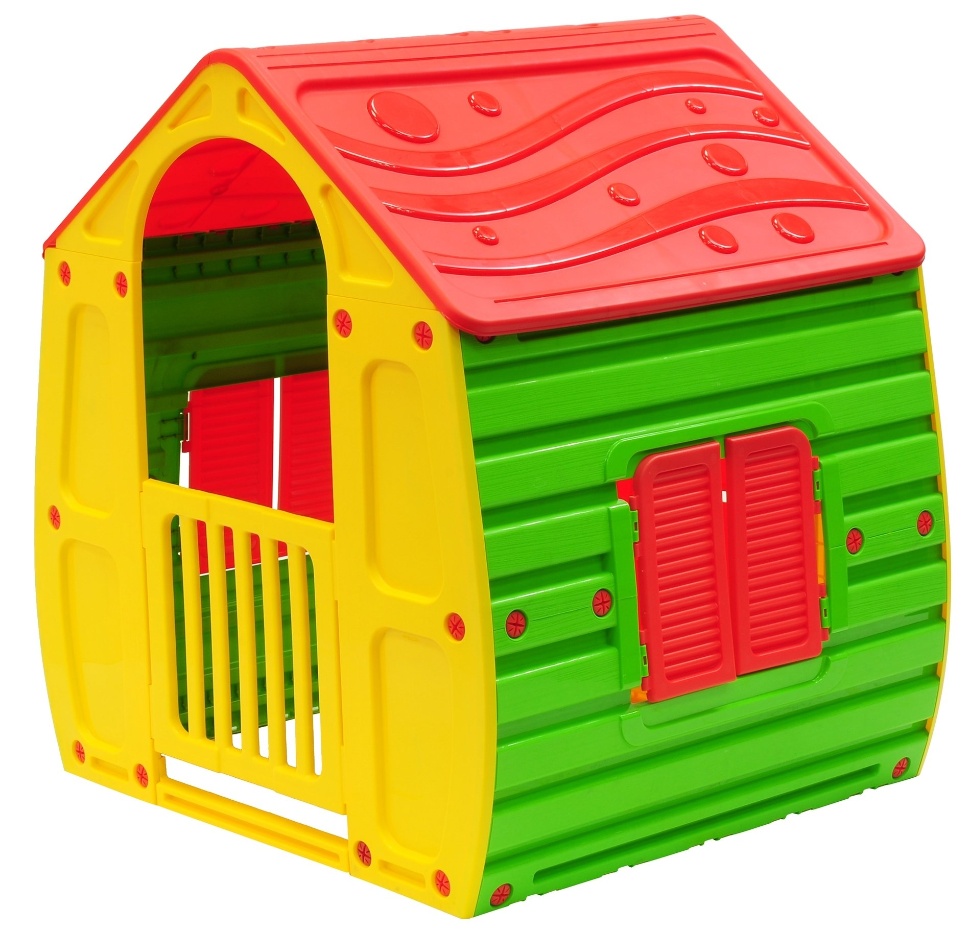 Starplay Magical Playhouse, Primary Color Combination/Red/Green/Yellow