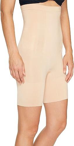 Details about  /SPANX Slimplicity BLACK Super Control High Waist Girl Shorts NEW Womens Sz M L