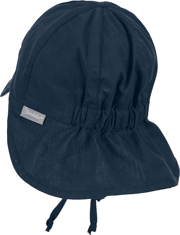 Sterntaler Baby-M/ädchen Cap with Visor and Neck Protection M/ütze