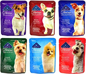 Blue Buffalo Divine Delights Wet Dog Food Variety Pack