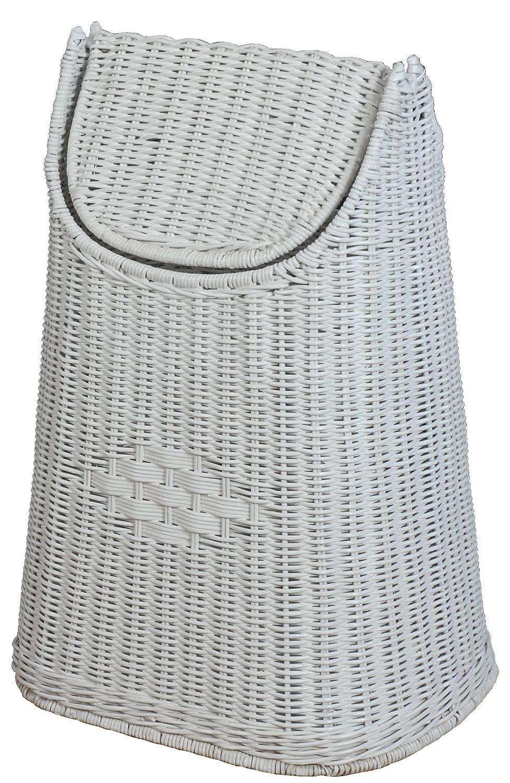 Papierkorb aus Rattan geflochten mit Schwingdeckel Farbe Honig, Abfallkorb aus natürlichem Rattan B00KGC3XCY | Große Klassifizierung