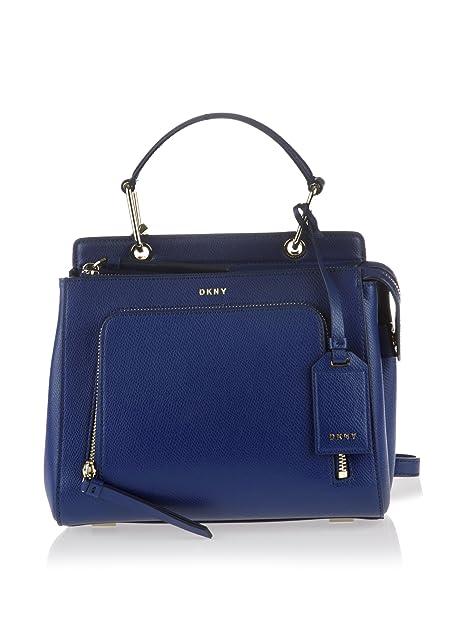 DKNY Bolso asa de mano R461161001 Bryant Park Azul  Amazon.es  Zapatos y  complementos 8788062010b8