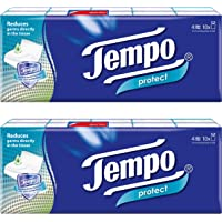 Tempo Pocket Handkerchief Protect 4-ply (20 packs)