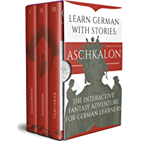 Learn German With Stories: Aschkalon (Complete Edition) - The Interactive Fantasy Adventure For German Learners (German… book cover