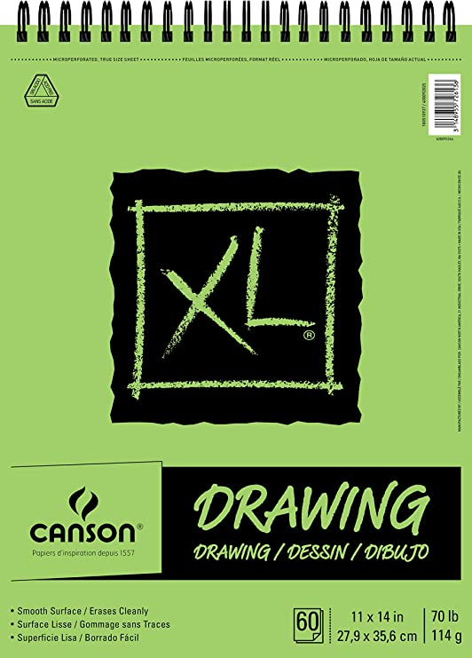 11 x 14 CANSON XL Series Drawing