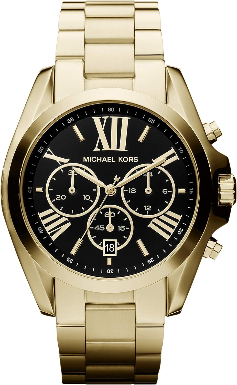 Michael Kors Reloj Cronógrafo para Mujer de Cuarzo con Correa en Acero Inoxidable MK5739: Michael Kors: Amazon.es: Relojes