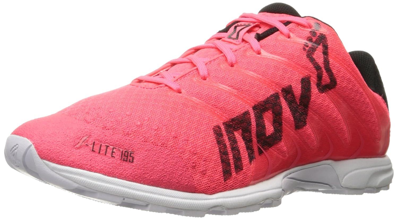 Neon Pink Black White Inov-8 Women's F-lite 195 Cross-Trainer shoes