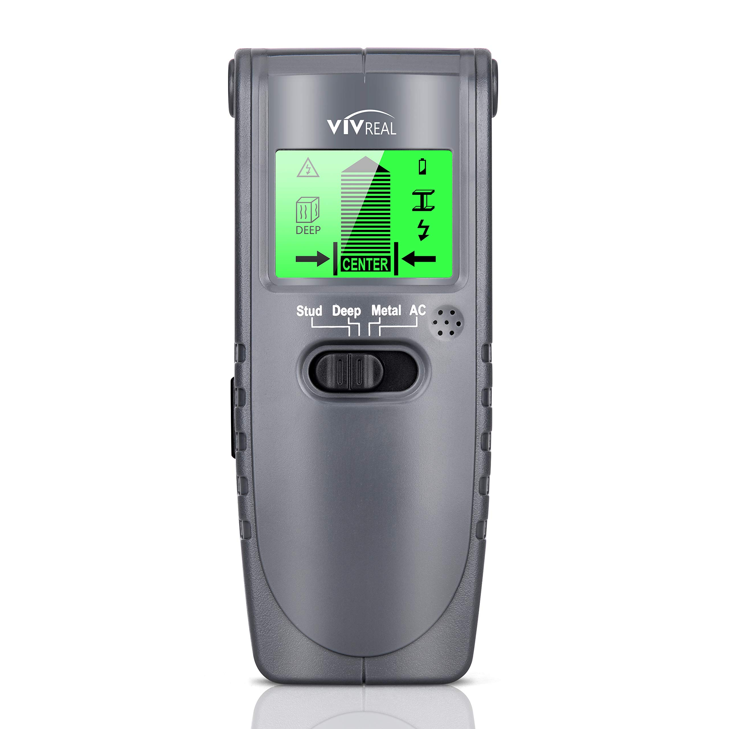 Stud Finder Sensor - 3 in 1 Wall Scanner Stud Detector Electronic Multi-function Wall Sensor with Large LCD Display Sound Alert for Studs Wood Metal live AC wiring Detection