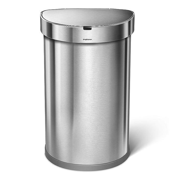 Amazon.com: Simplehuman bote de basura de 6.6 galones ...