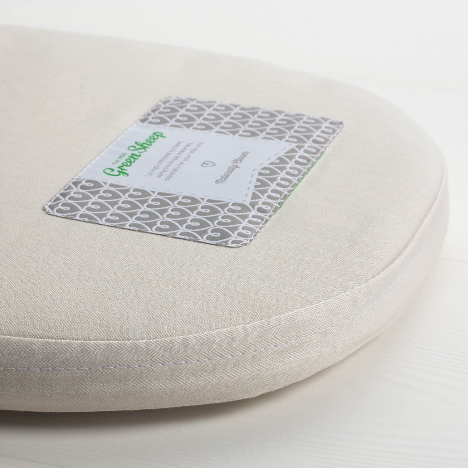 to fit Bugaboo Bee - 32 x 72 cm The Little Green Sheep Natural Carrycot Mattress