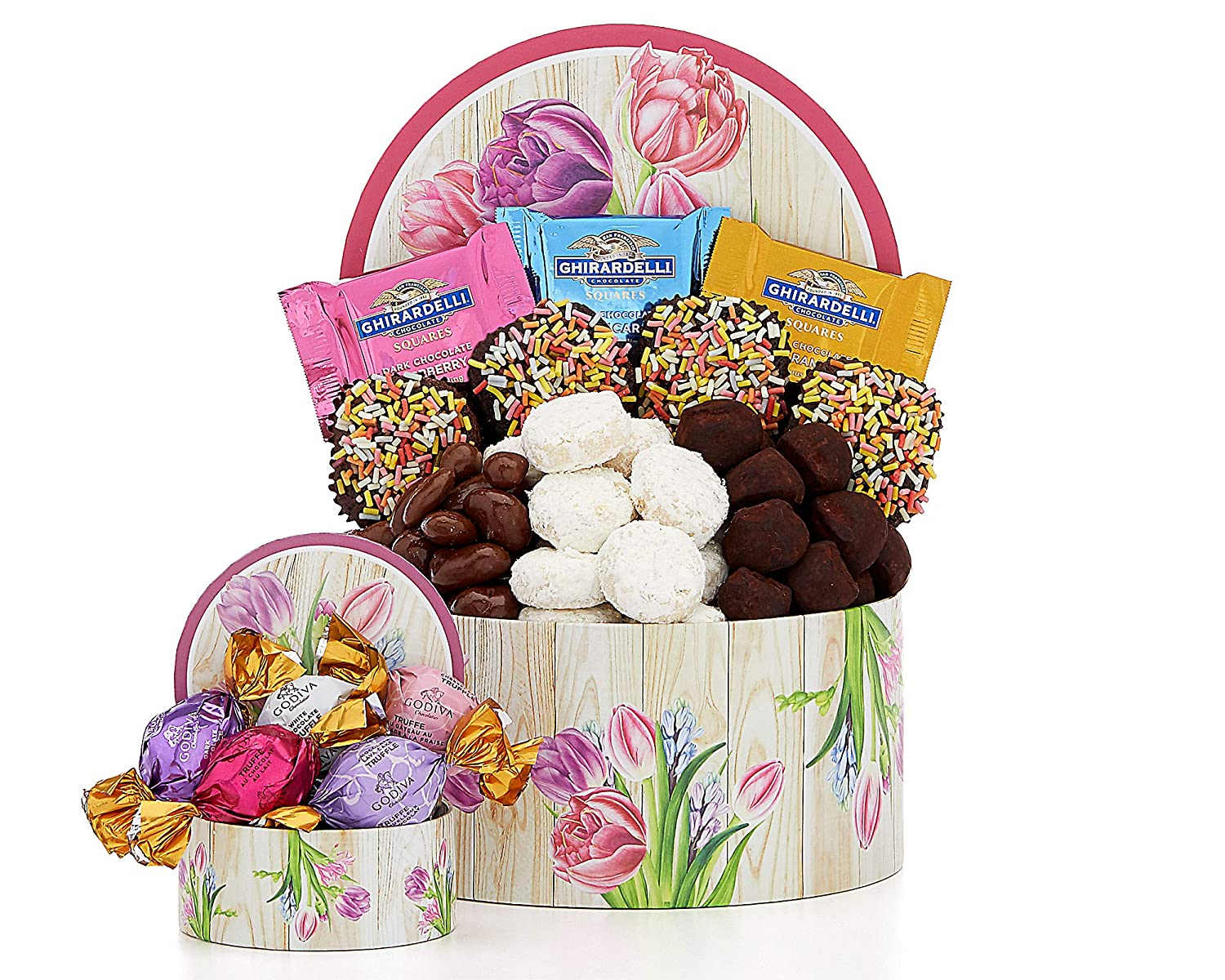 Happy Spring Chocolate and Brownie Collection by Wine Country Gift Baskets