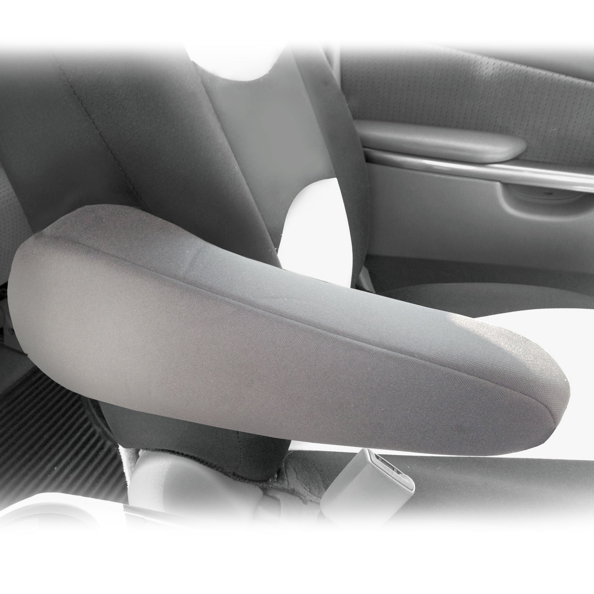 FH Group FH1051GRAY FH1051 Armrest Cover Semi-Universal (Flat Cloth Fabric- One Pair Gray) by FH Group