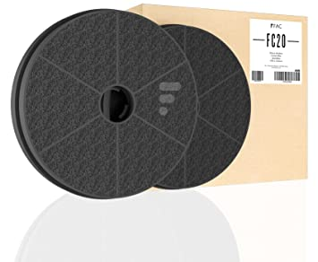 Kohlefilter aktivkohlefilter für dunstabzugshaube fc20 2 stück