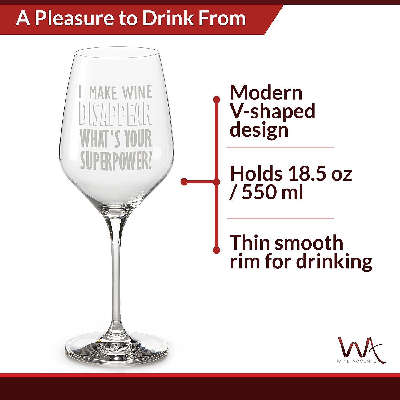 Amazon.com: Vaso de vino en caja de regalo - 18,5 oz Vaso de ...