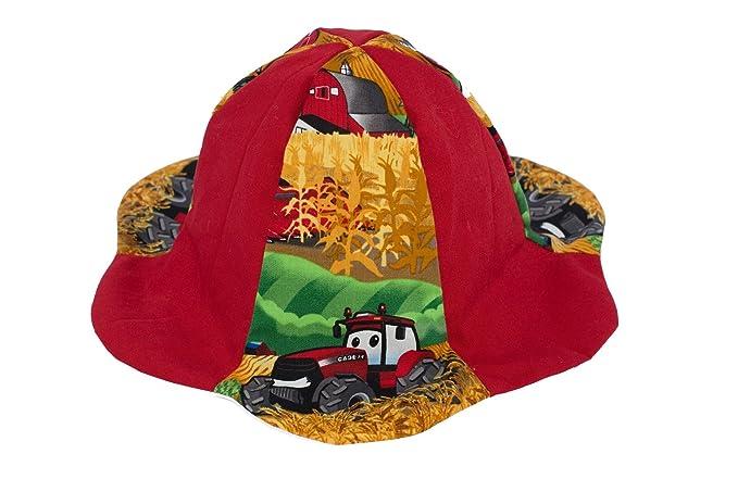 6559e7ba5c6 Amazon.com  CaseIH Tractor Sun Hat
