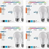 Cree 8-Pack LED 60W Replacement A19 Soft White (2700K) Dimmable Light Bulb