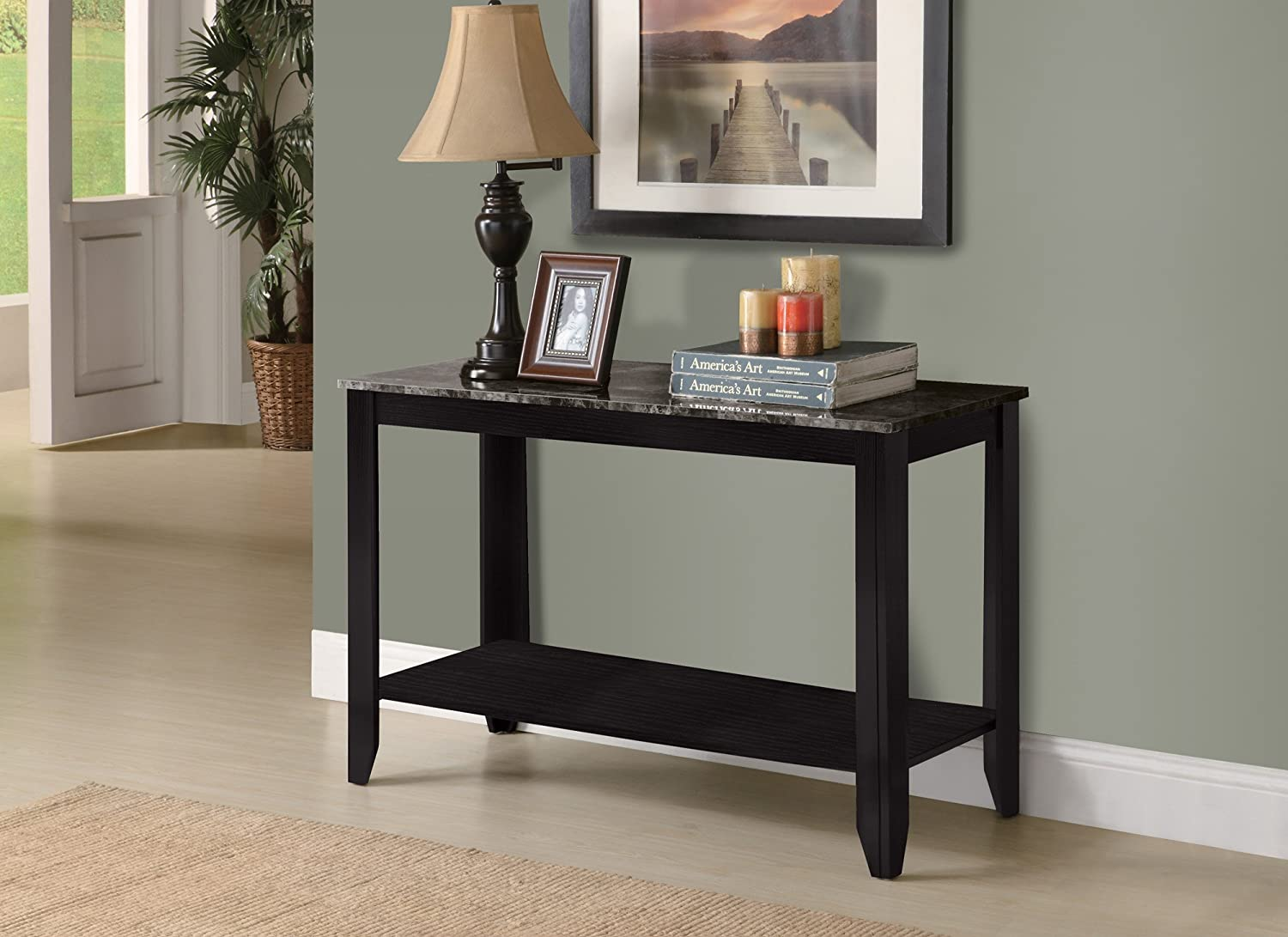 Amazon.com: Monarch Specialties Dark Taupe Reclaimed-Look Sofa Console Table:  Kitchen & Dining - Amazon.com: Monarch Specialties Dark Taupe Reclaimed-Look Sofa