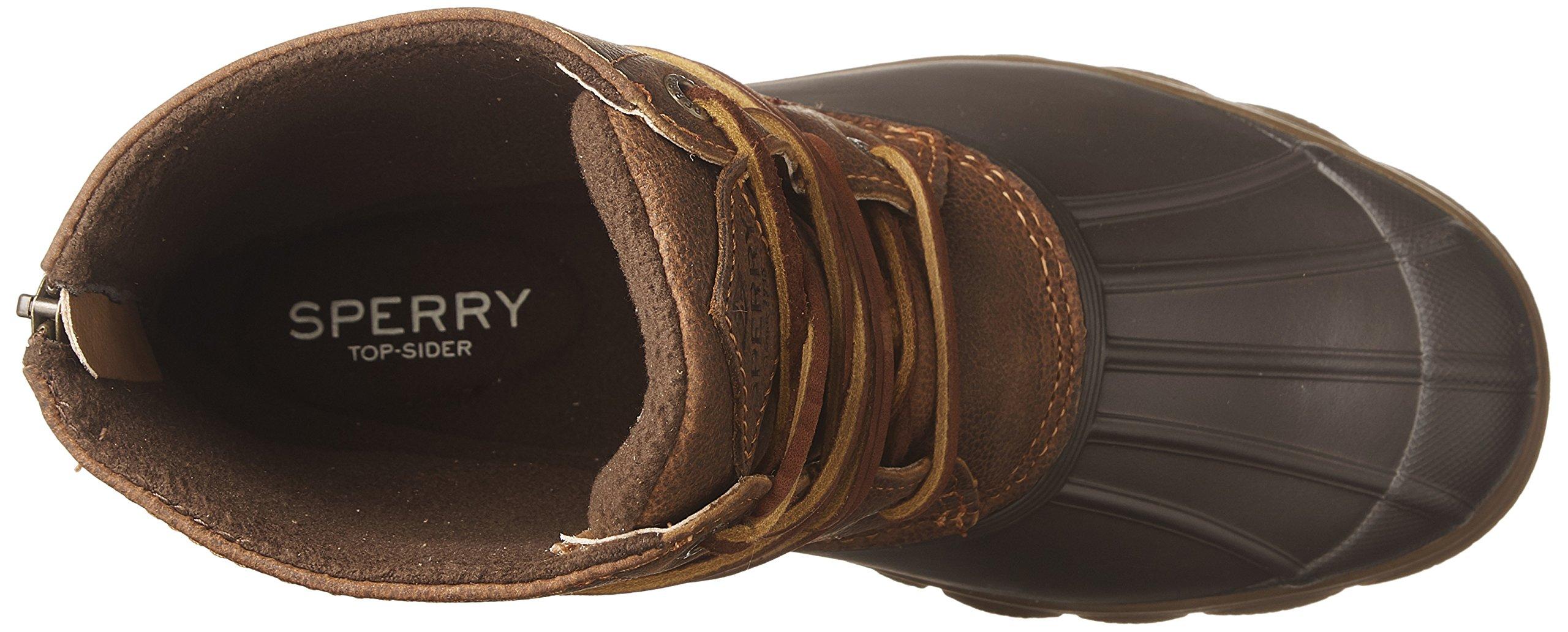 Sperry Top-Sider Women's Saltwater Wedge Tide Rain Boot, Brown/Tan, 11 Medium US by Sperry Top-Sider (Image #8)