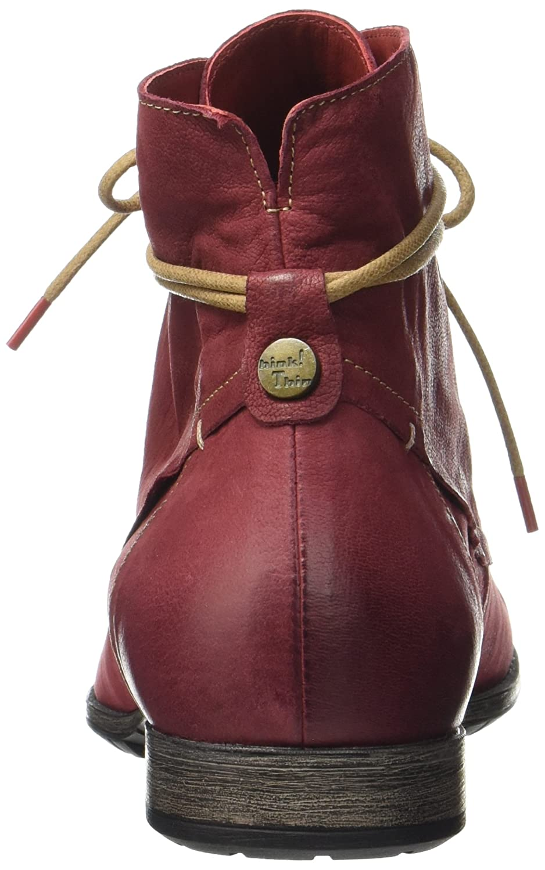 8384eb90f83f Think! Stiefel Damen Denk 181015 Desert Stiefel Think! Rot (Rosso ...