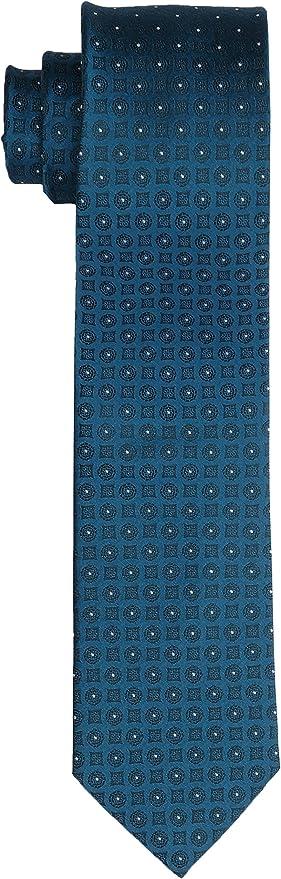 Tommy Hilfiger Slim 6.4 Cm Corbata, Azul (Teal 439), Talla única ...